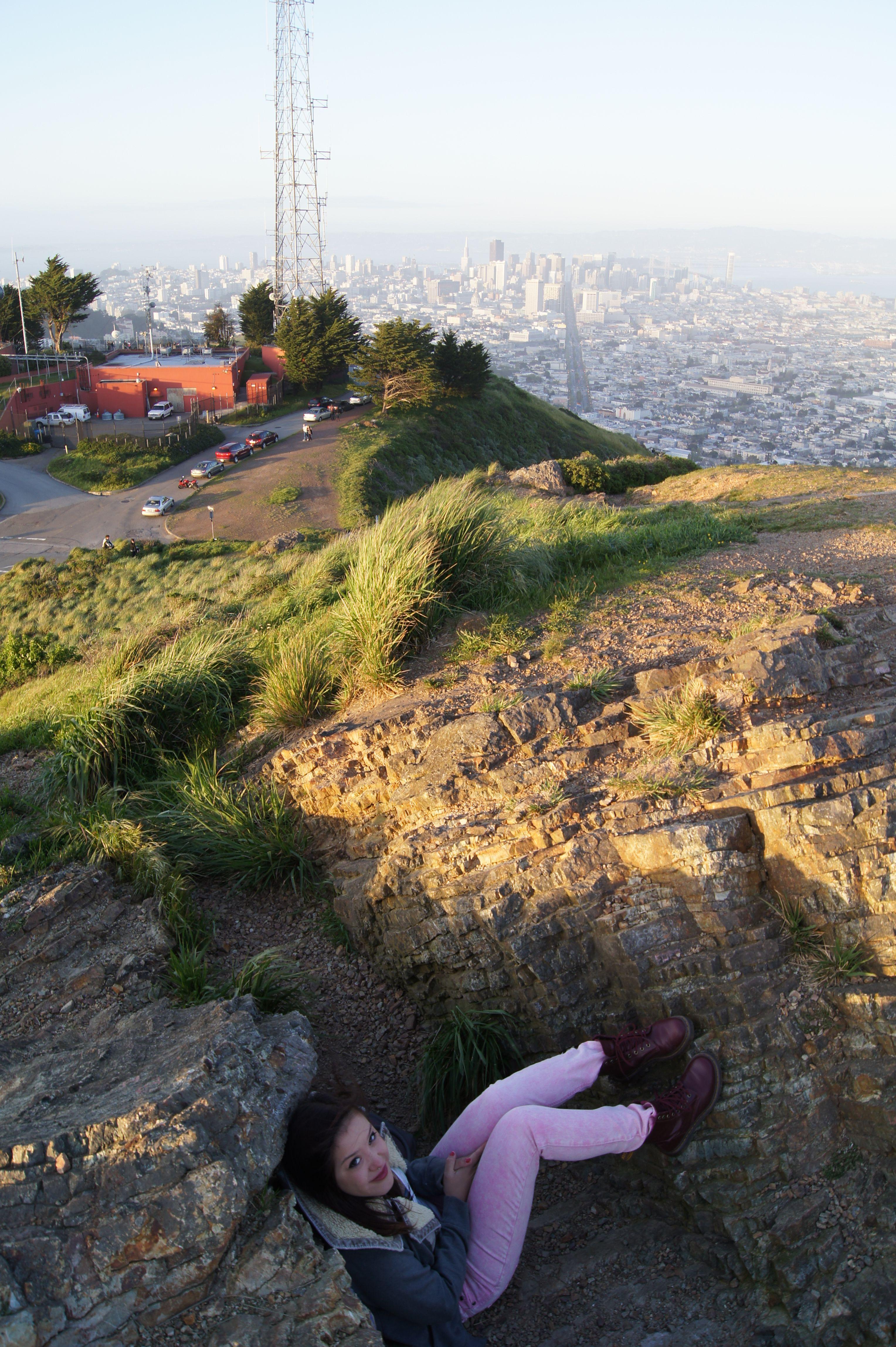 Overlooking beautiful San Francisco, CA.