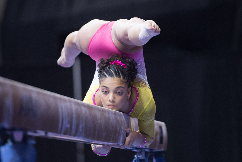 This Video Of A Young Laurie Hernandez Will Melt Your