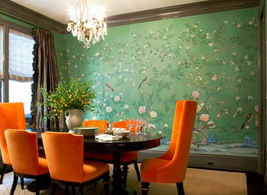 colorful dining room ideas |  color combination » fancy dining