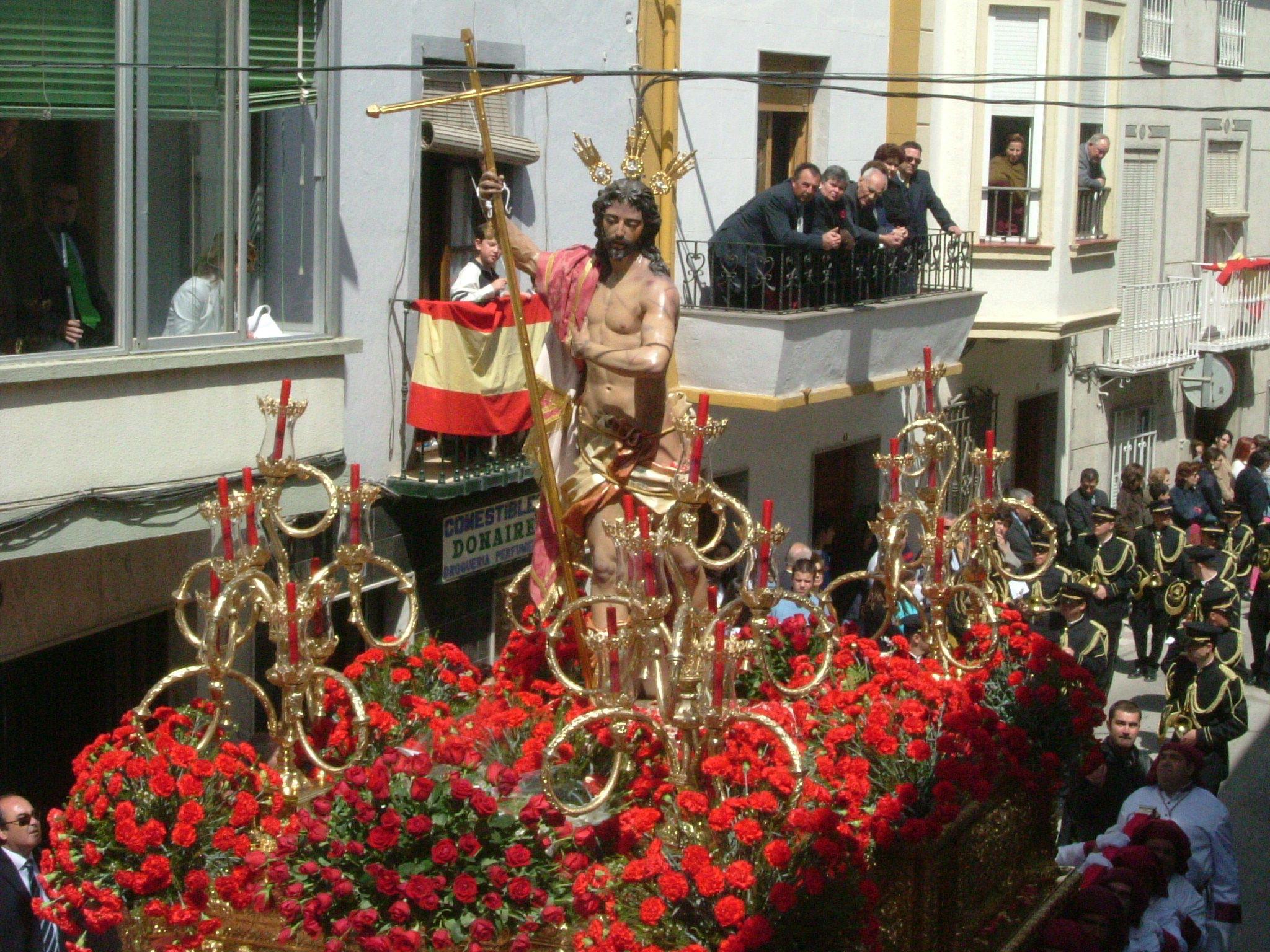 imagen de jesus resucitado de Martos