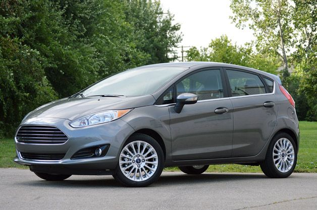2014 Ford Fiesta Titanium Ford Fiesta Ford Buying New Car