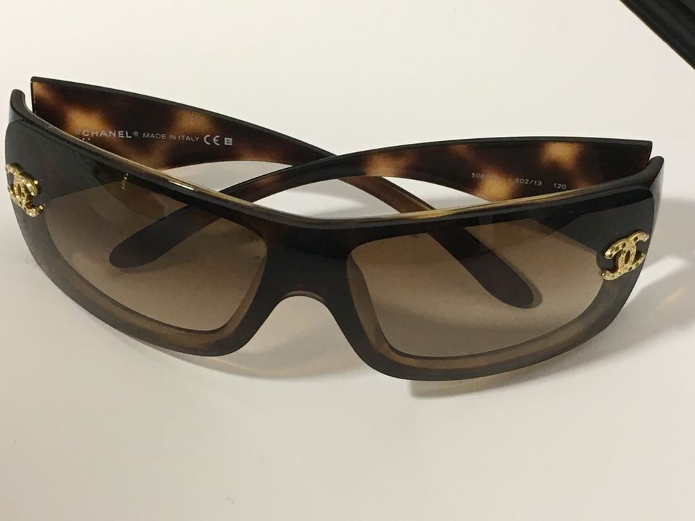 aa8cea2a4f CHANEL 5088-B Sunglasses c.502 13 120 Made in Italy  CHANEL
