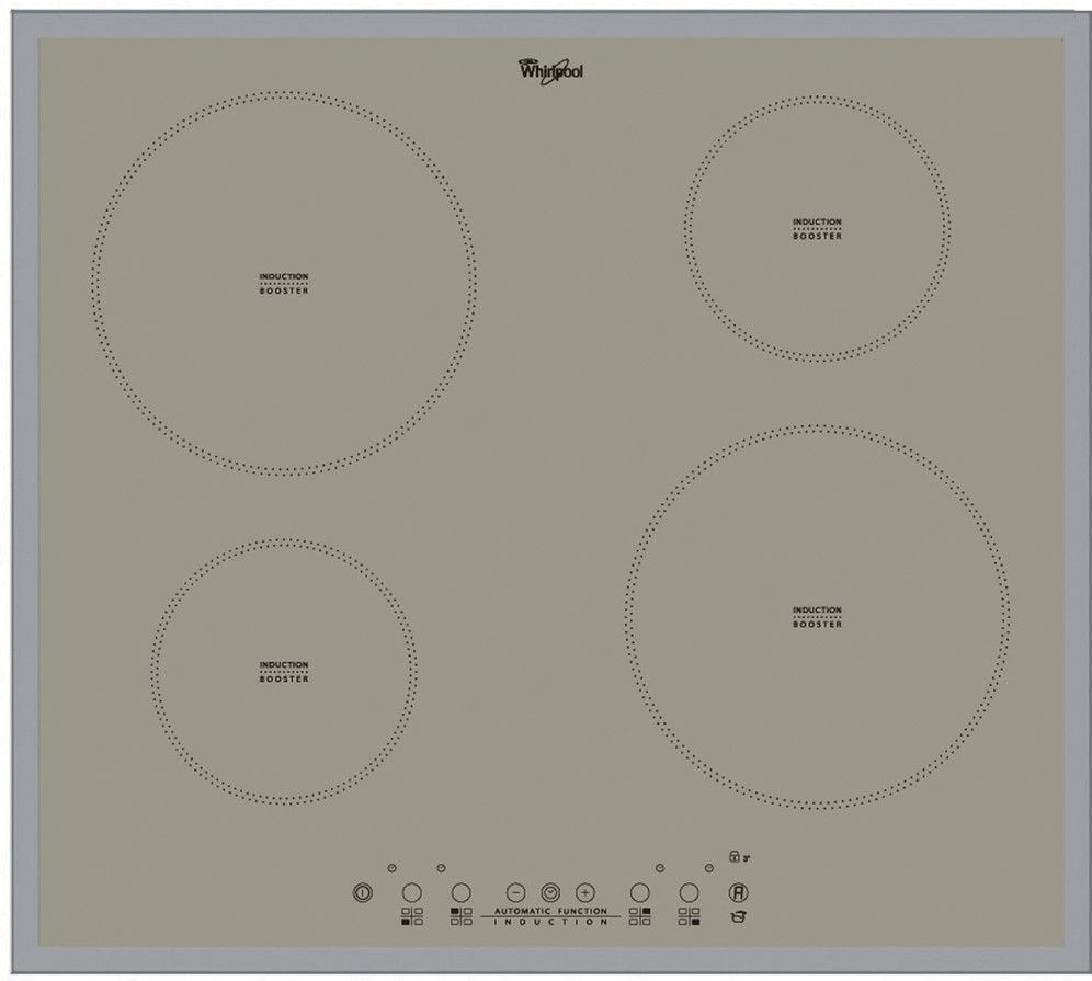 induction hob white | Whirlpool ACM 804 BA S induction hob finished ...
