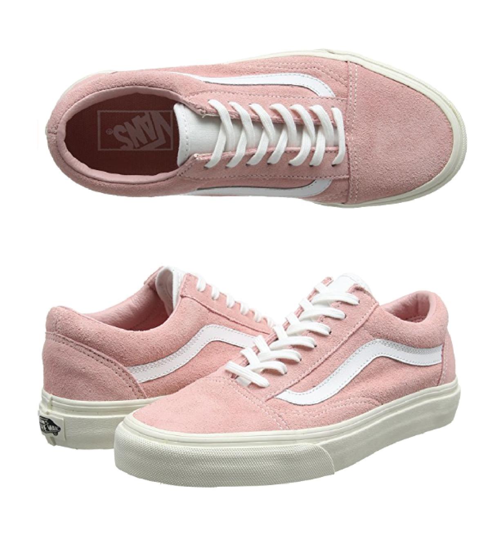 all light pink vans