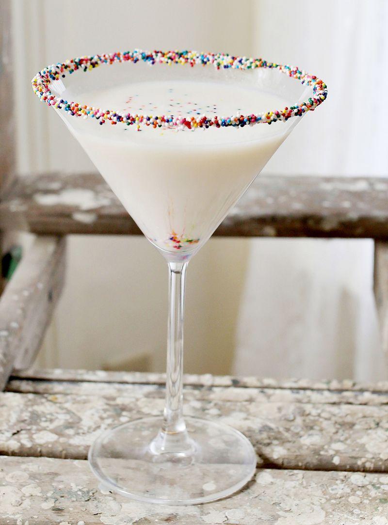 Birthday Cake Martini A Beautiful Mess Girls Night