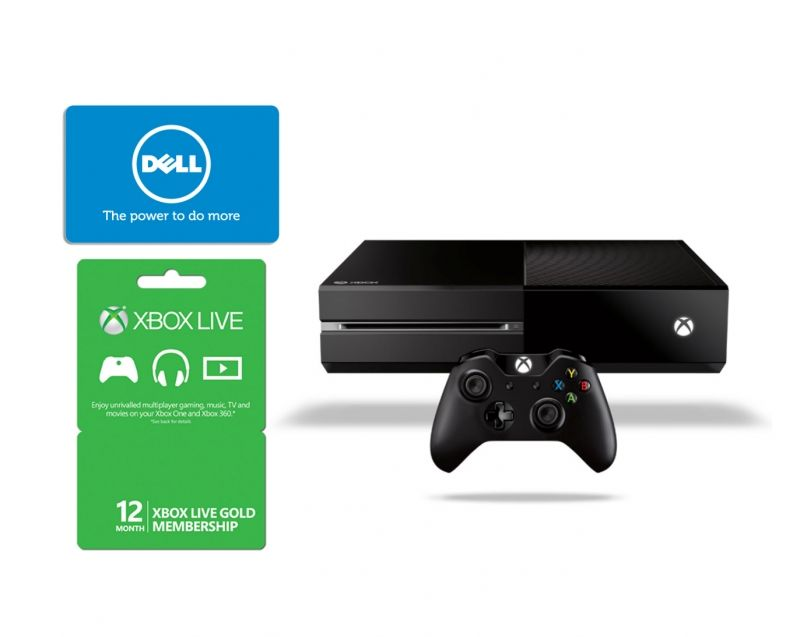 Xbox One gaming console + 12-month Xbox Live subscription + $100 Dell eGift card at Dell Home #gaming #xbox #giftcards #Dell #XboxLive #Microsoft