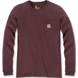 Carhartt Workwear Pocket Damen Long Sleeve Shirt Rot S CarharttCarhartt #carharttwomen