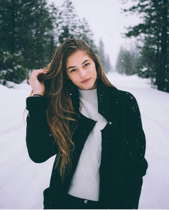 Snow Photoshoot
