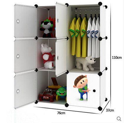Simple Childrenu0027s Baby Wardrobe Lockers Finishing Cabinet Baby Clothes  Children Plastic Drawer Storage Cabinets Wardrobe