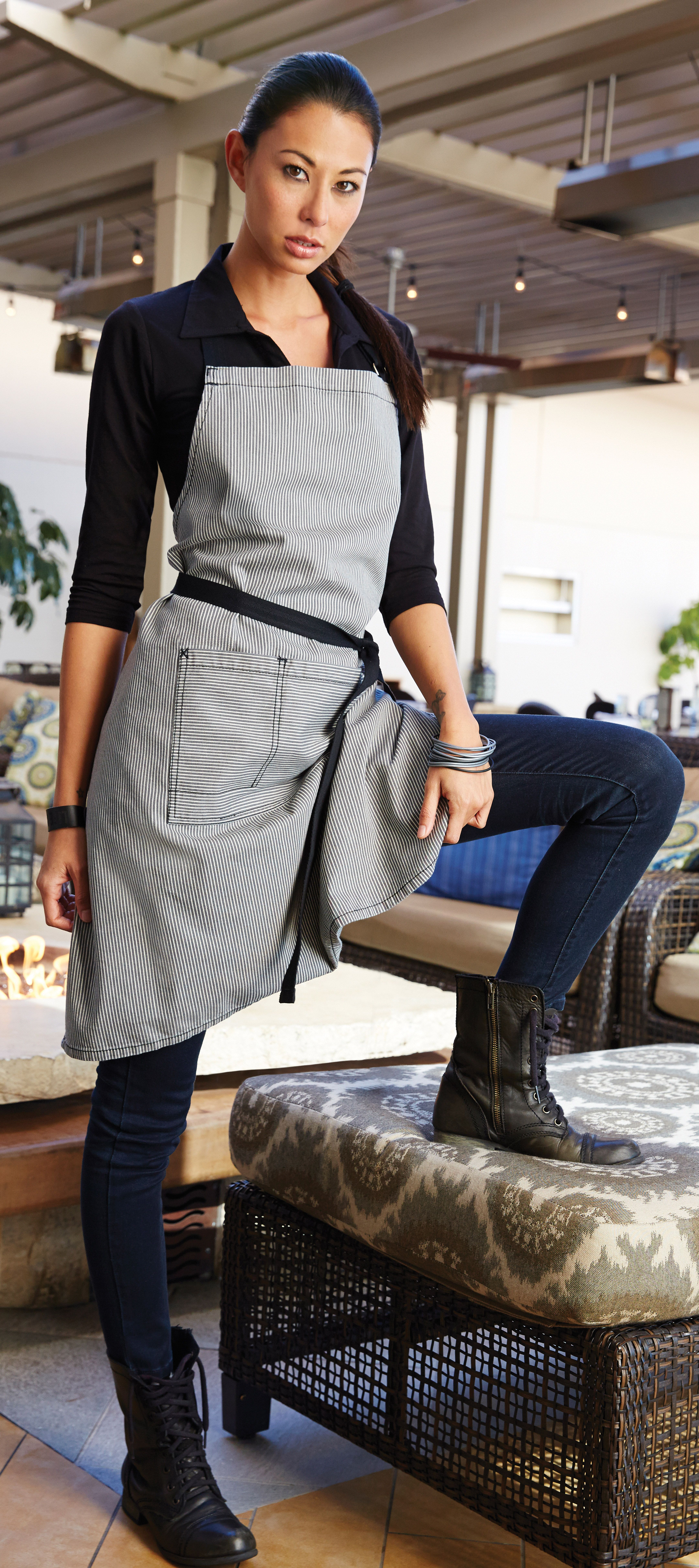 White half apron australia - Get Denim Aprons At Low Wholesale Prices Chef Works Australia Offers A Range Of Items That Is Perfect For Every Kind Of Kitchen Crew