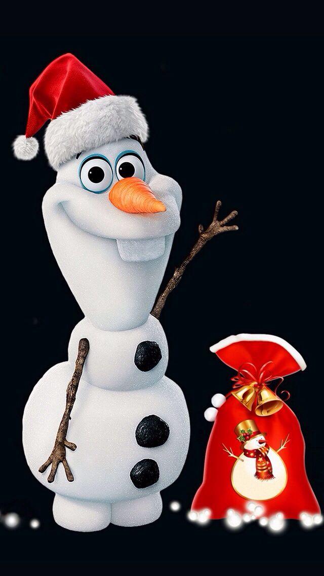 Christmas Olaf If Olaf Was Replacing Santa Hmmm Disney Christmas Christmas Wallpaper Christmas Backrounds