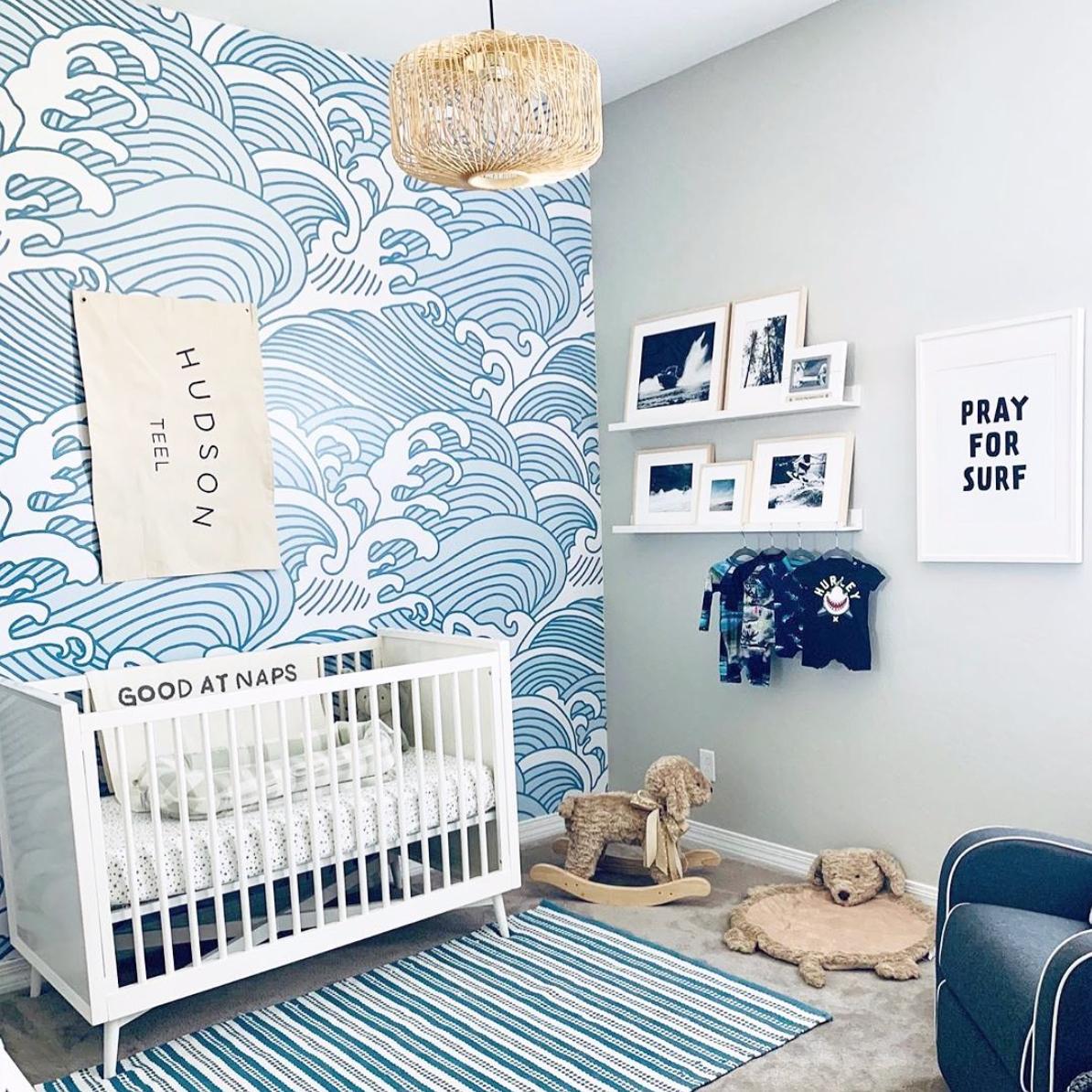 Here S What S Trending In The Nursery This Week Project Nursery Nursery Baby Room Stylish Nursery Blue Nursery