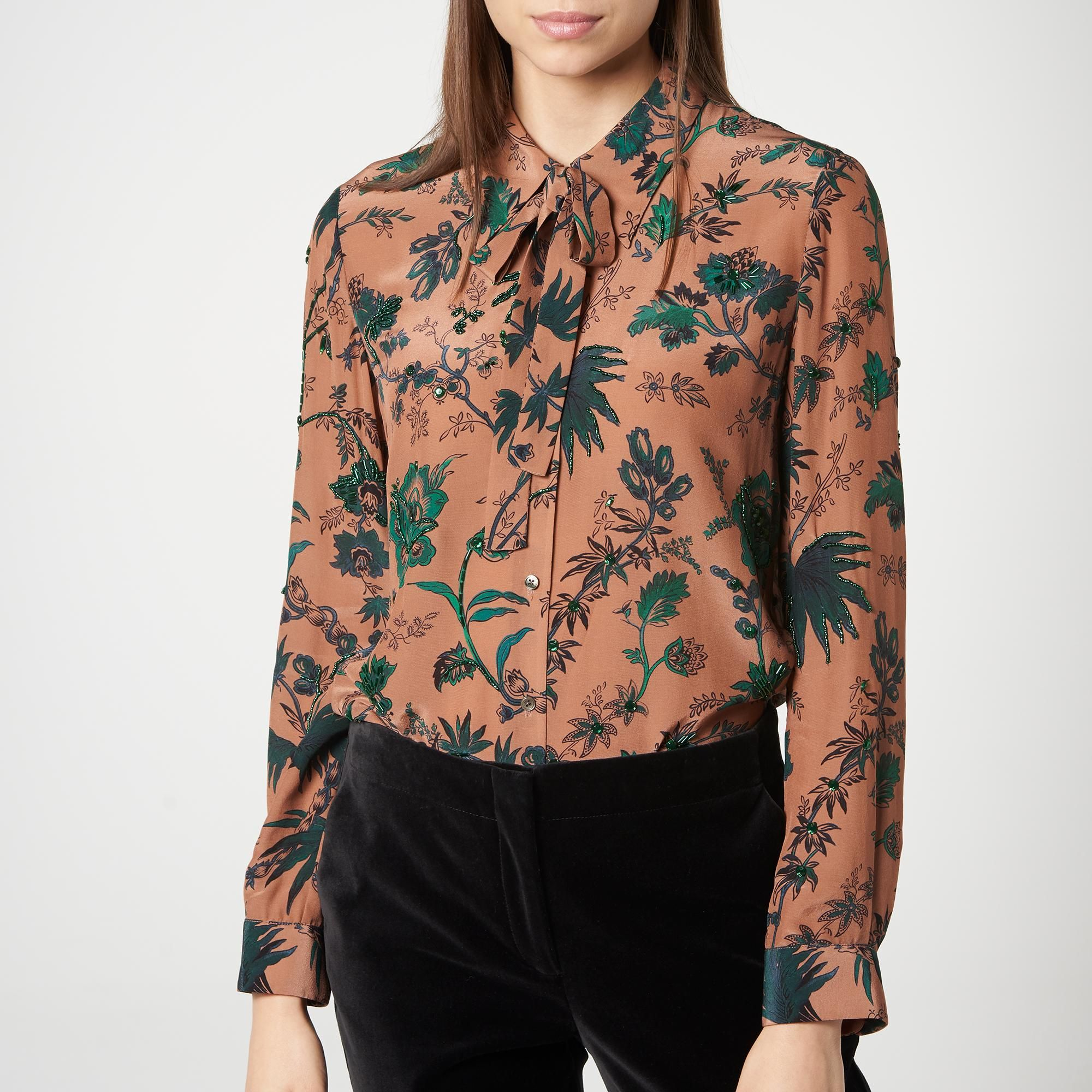 Noah Pink Silk Blouse | Clothing | L.K.Bennett | Clothes