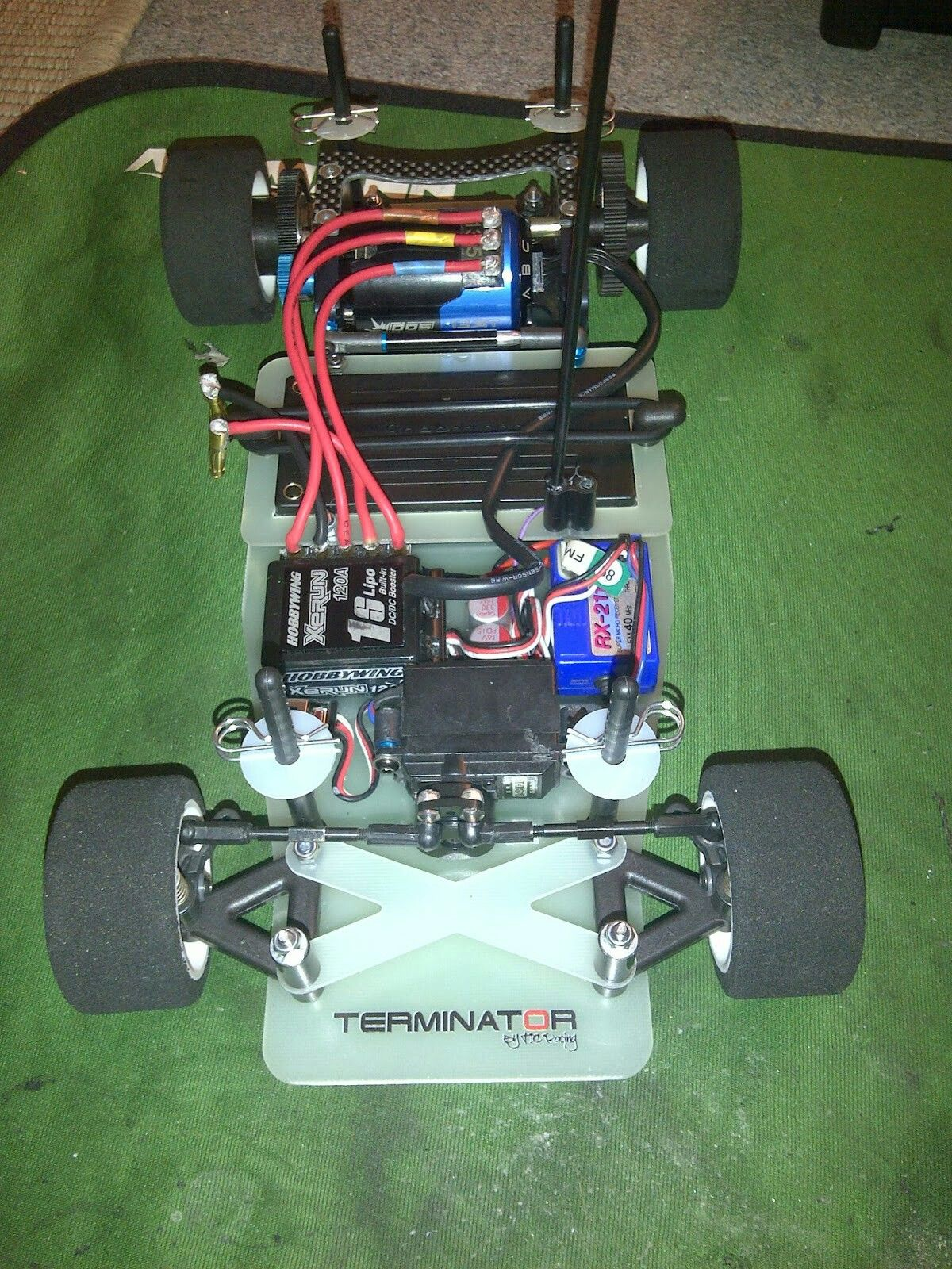 tic racing terminator gt12 rc drift tamiya radio control electric cars racing [ 1200 x 1600 Pixel ]