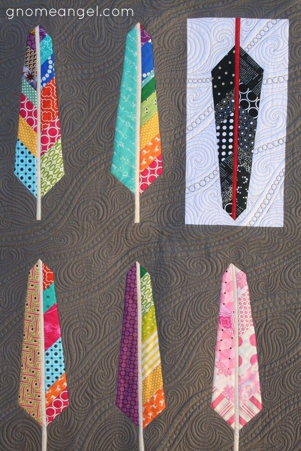 Feather quilt by Gnome Angel, quilting by Raylee of Sunflower ... : anna maria horner feather quilt - Adamdwight.com