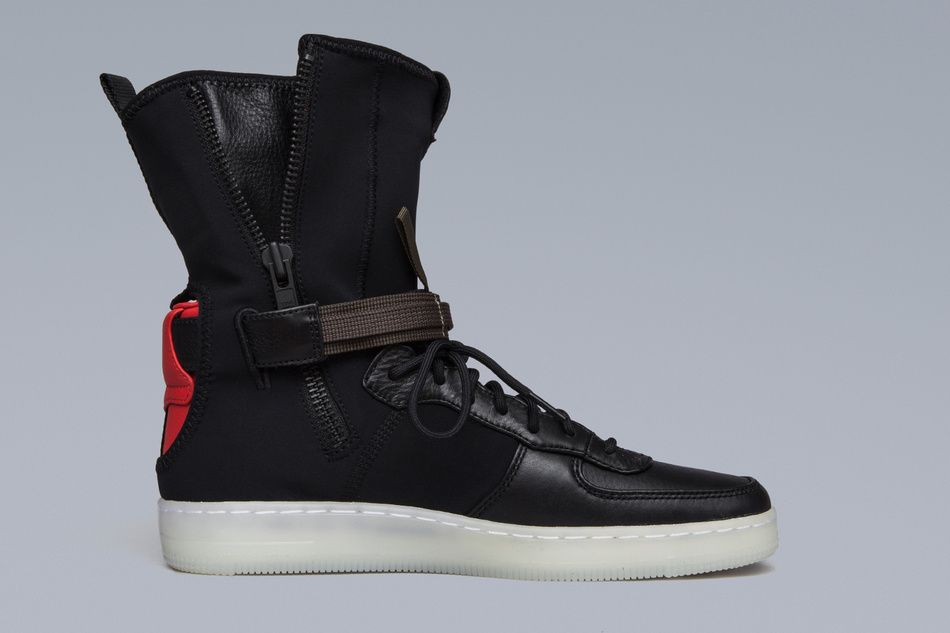 cheaper 11e56 10cb3 Here Are the Most Detailed Shots of the ACRONYM x Nike AF1 ...