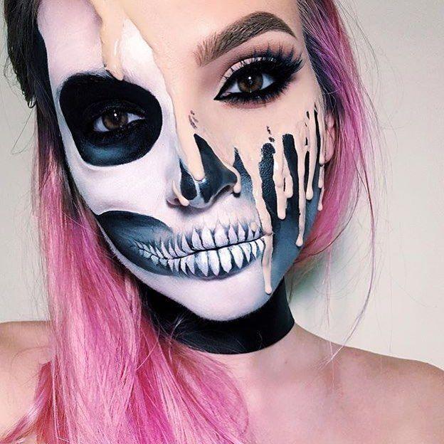 by @giamariewaits #alternativexfashion Makeup Pinterest - ideas for halloween costumes