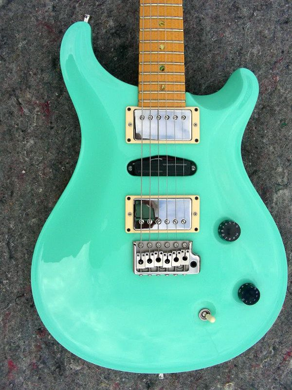 17 Best Images About Seafoam Green Guitars And Basses On Pinterest