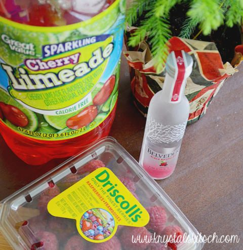 Spiked Raspberry Limeade #raspberryvodka