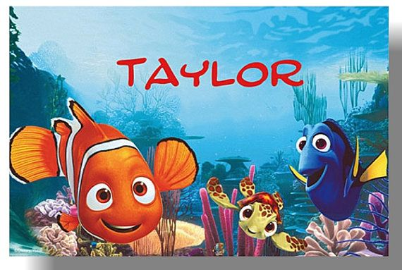 10 PRINTED Disney Nemo Thank You Notes By Mypreciouspaper On Etsy