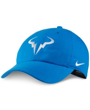b7179becdc6b8 Nike Men s Court AeroBill Rafa Tennis Hat - Blue in 2019