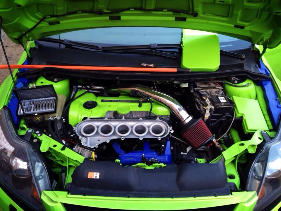 Inside Our Focus Rs St 225 Mk2 Inlet Plenum Ford Focus Focus Rs