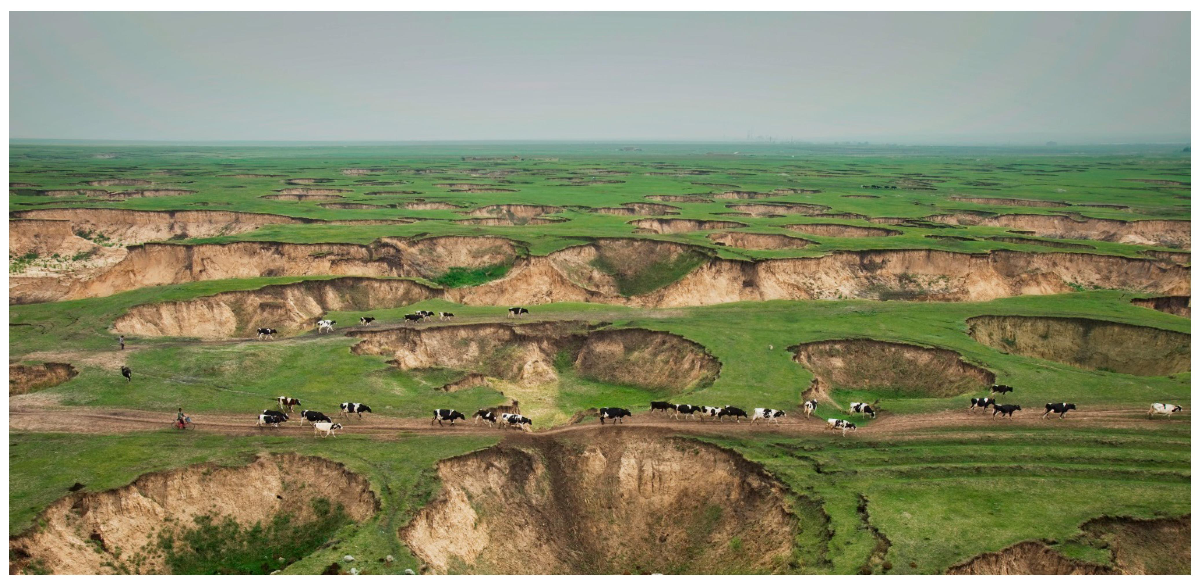 image result for coal mine subsidence fading mongolia coal rh pinterest com