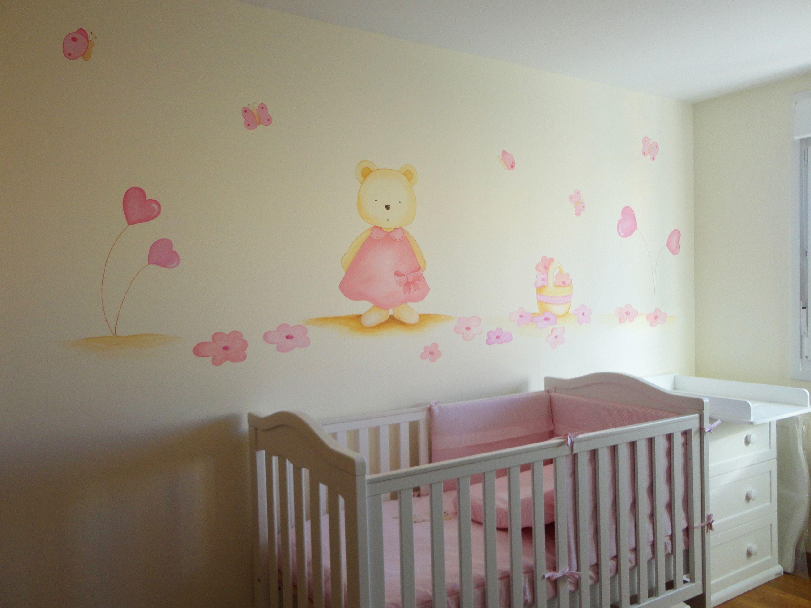 Murales infantiles murales pintados decorar habitacion - Decoracion infantil habitacion ...