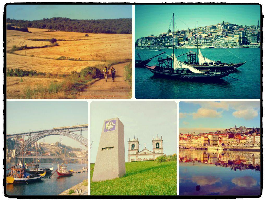 Portuguese Way, Porto city and its beautiful bridge