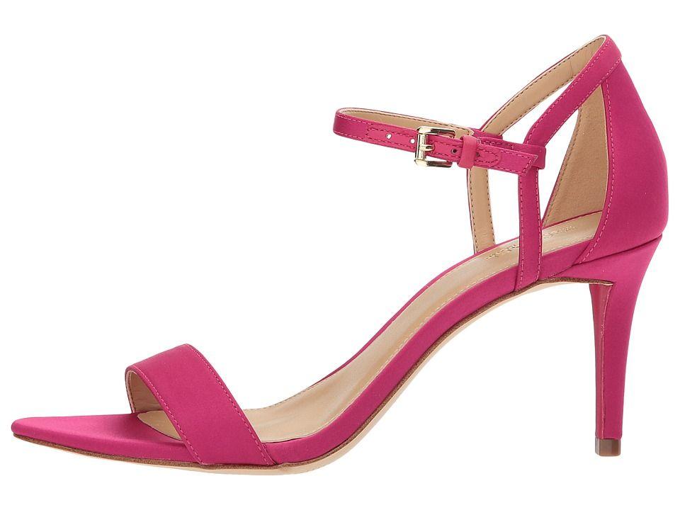 2b77b04ebba MICHAEL Michael Kors Simone Mid Sandal Women s Sandals Ultra Pink Satin