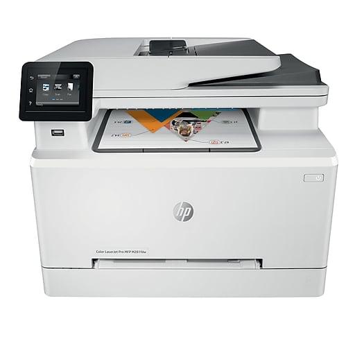 HP LaserJet Pro M281fdw All-In-One Wireless Color Laser ...