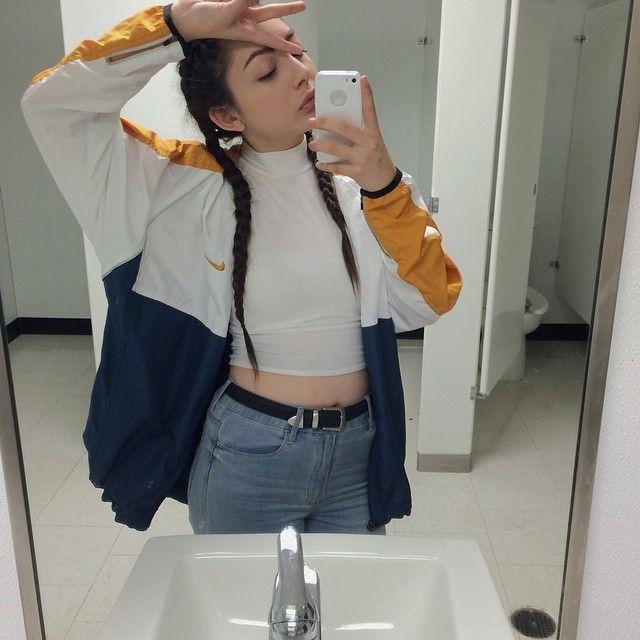 vintage nike jacket tumblr