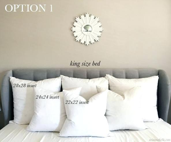 King Size Pillow Guide For Beds Measurements Cm (With