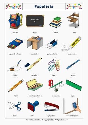 Objetos que usamos en clase estudiar aprender ense ar for 10 objetos en ingles del salon de clases