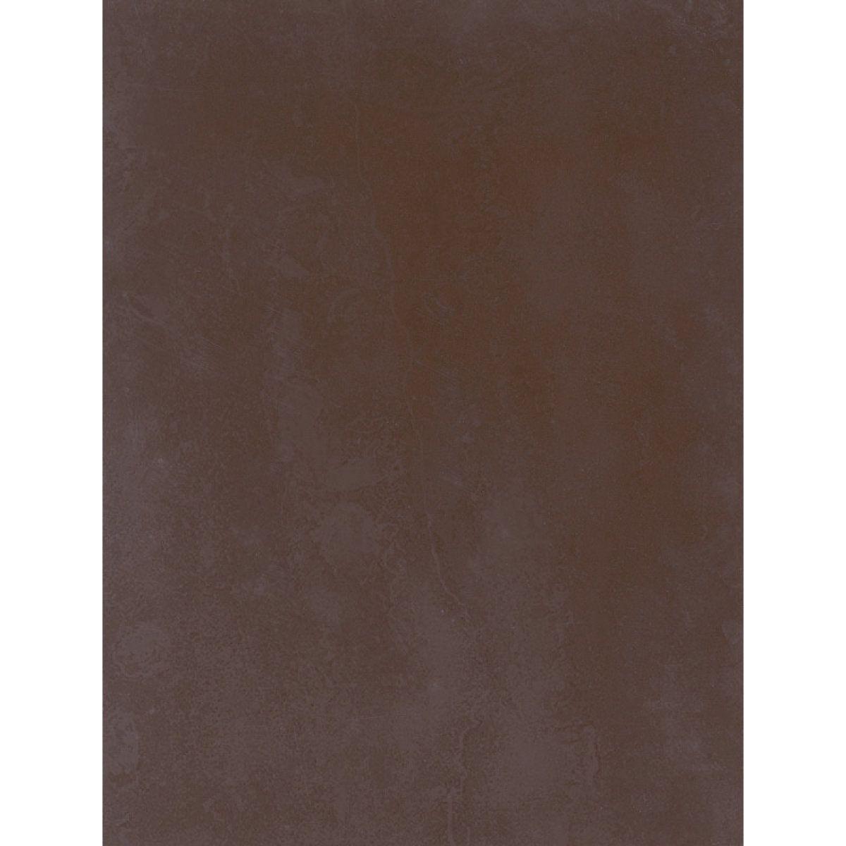 Fa ence arte one villa fiora chocolat mat 25x33cm watkb162 for Carrelage noir mat