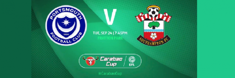 Portsmouth vs Southampton Live stream Carabao Cup 2019
