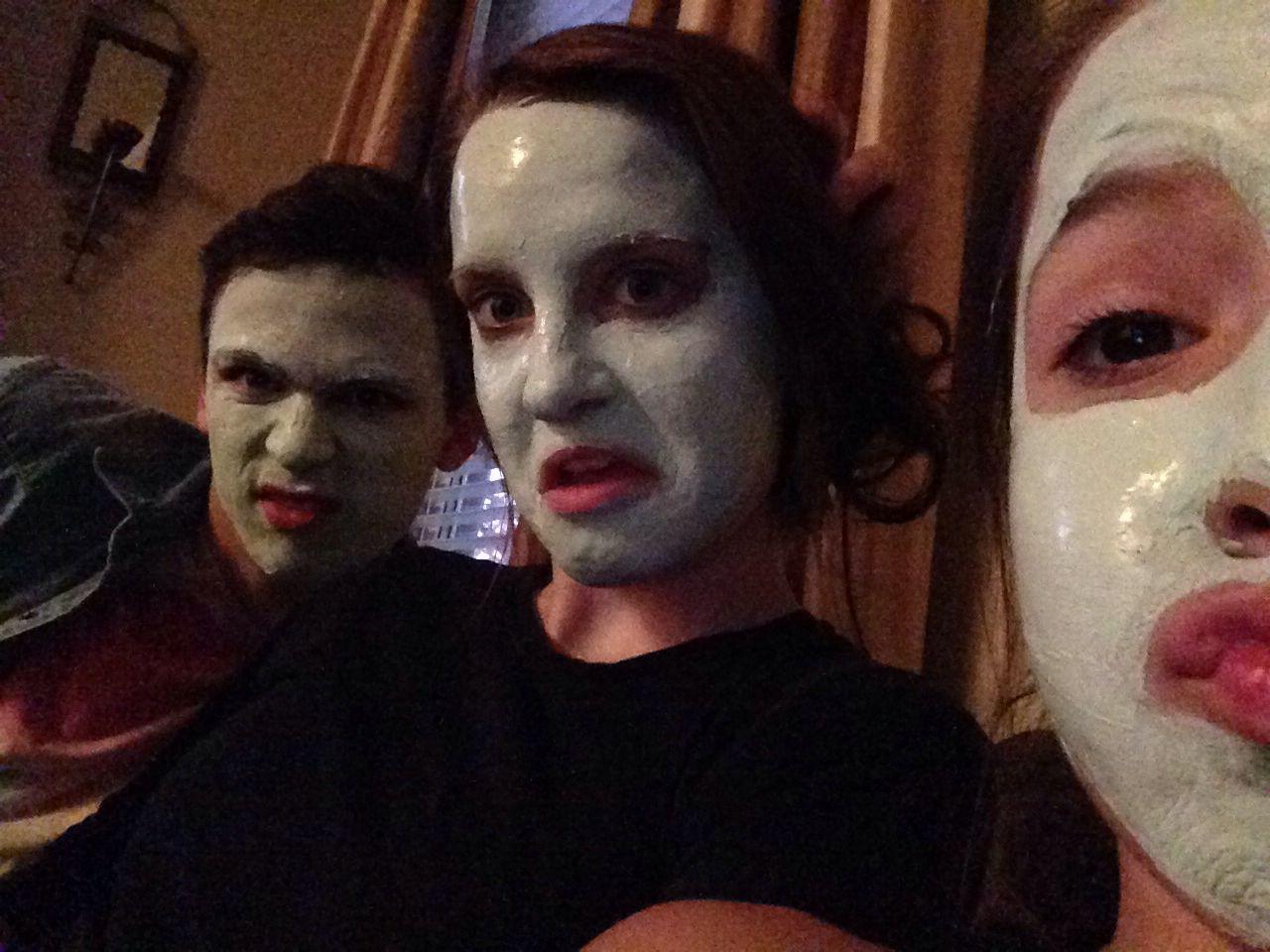 Face masks!