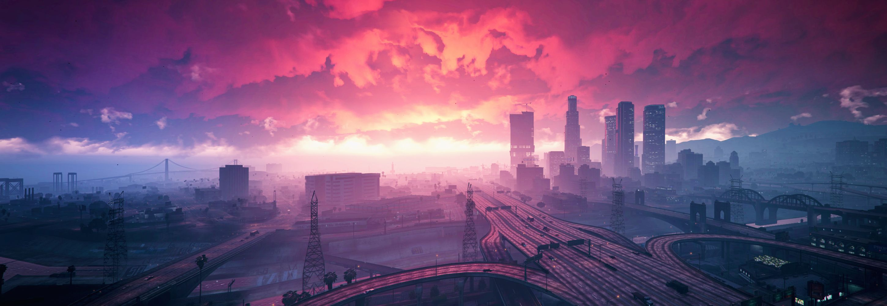 A Gorgeous Morning In Los Santos Grand Theft Auto Gta Hd Wallpaper