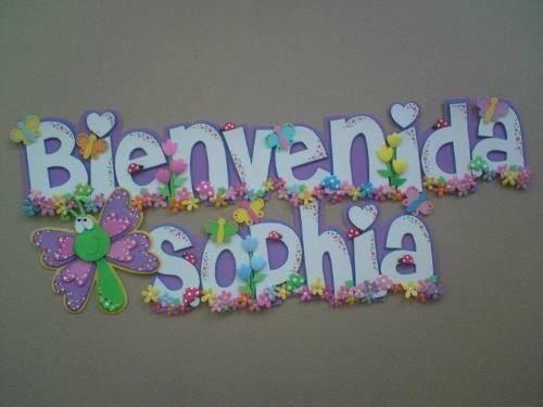 Resultado de imagen para bienvenida para baby shower - Casa al dia decoracion ...