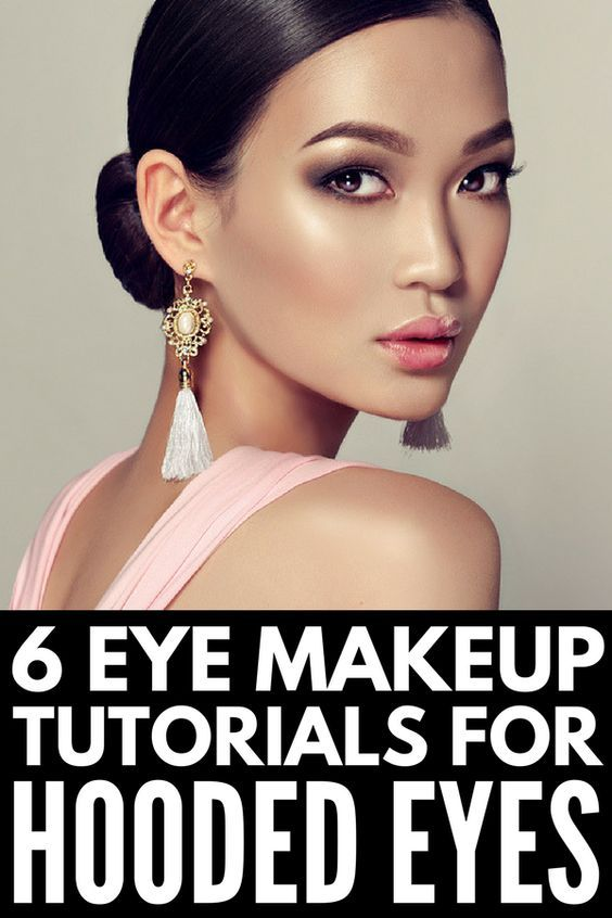 Hooded Eyes 101 How To Apply Makeup To Droopy Eyelids Bride Hair