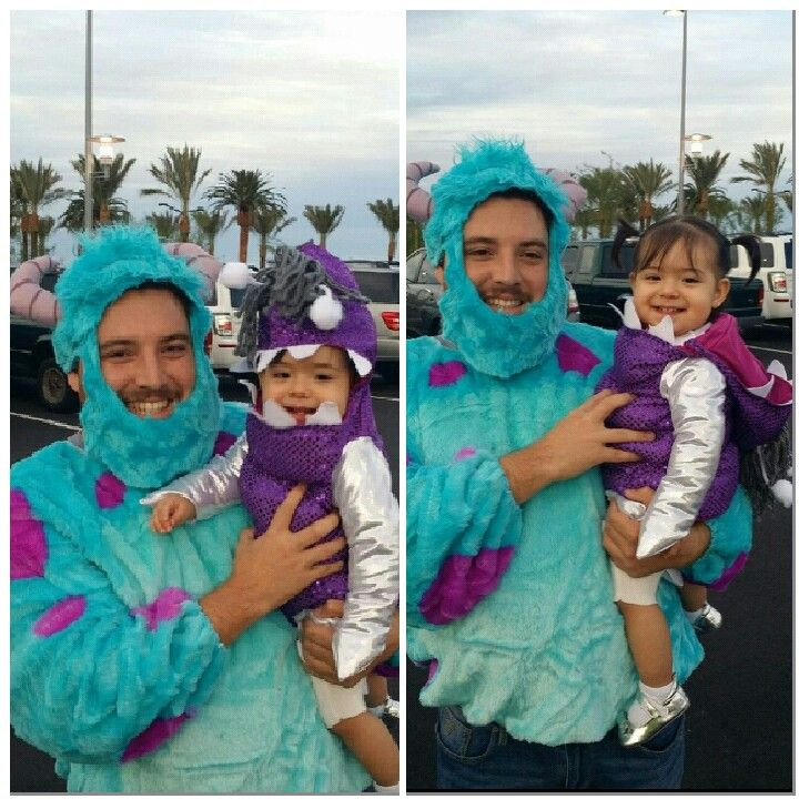 father daughter costumes boo and sulley - Boo Halloween Costumes