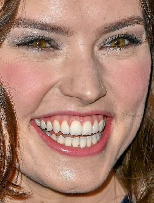 Image result for Daisy Ridley big mouth