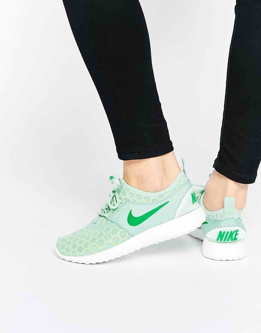womens nike green juvenate trainers