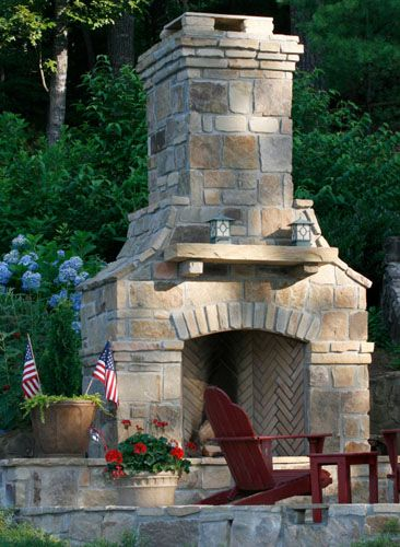 Outdoor Fireplaces Twin City Fireplace Stone Co Outdoor Fireplace Designs Backyard Fireplace Outdoor Stone Fireplaces