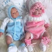 Romper suit to fit newborn baby - via @Craftsy