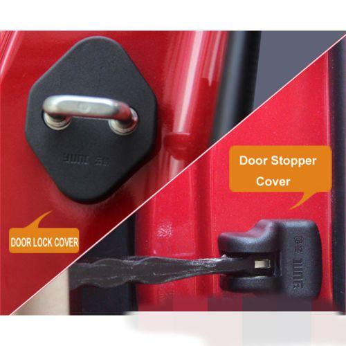8pcs Fit For 2014 Honda Fit Jazz Door Lock Stopper Buckle Cover Case Cap Catch Affiliate Camry Camry 2015 Door Locks