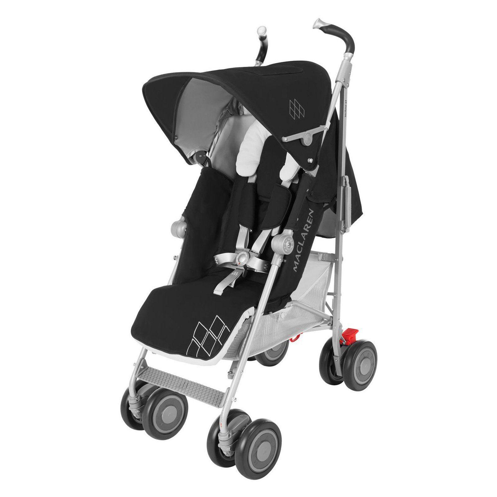 Maclaren Techno XT Lightweight Stroller Black/Silver