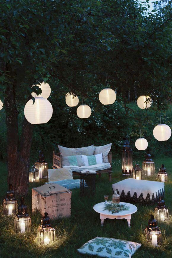 Lampion Laterne Lichterkette Die Schönste Beleuchtung Für Den