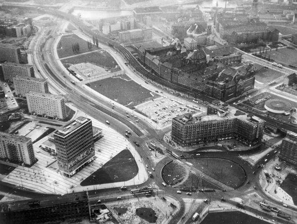 Berlin Alexanderplatz Luftbild 1964 Berlin Gorlitz Geschichte