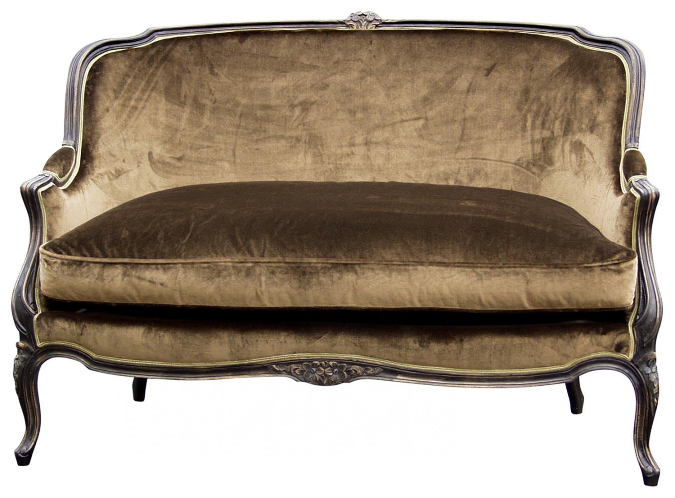 Gilles nouailhac canap louis xv gondole 0 1 sofa for Louis xv canape sofa
